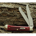 Pocket Worn Old Red Bone Trapper 783-Engravable