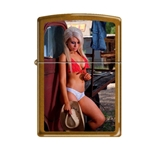 Zippo Sexy Cowgirl Red Top 43235