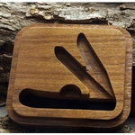 Walnut Trapper Box-Routed