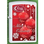 Case Christmas 2014 Red Ornaments Lighter