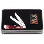 125th Anniversary Trapper and Lighter Set in Gift Tin 52014 Engravable