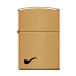 Zippo Pipe Lighter -Brushed Brass 17867