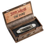 John Wayne Canoe Natural Bone 10706 - Engravable