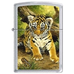 Zippo Picken's Tiger Cub and Toad