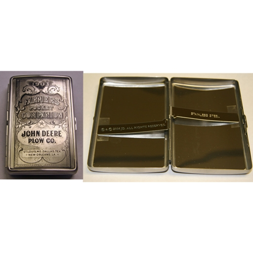 John Deere Money/Cigarette Case-Engravable